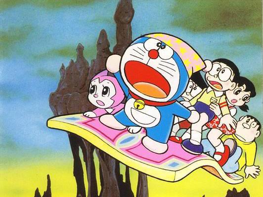 Kết quả hình ảnh cho Doraemon: Lạc Vào Xứ Quỷ