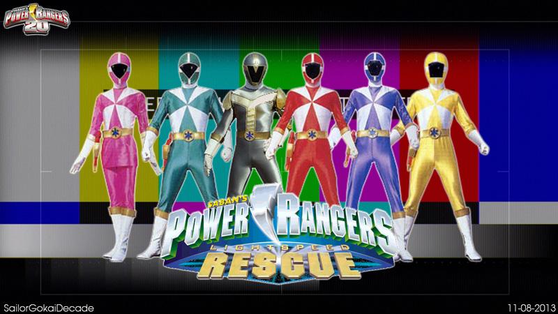 Tên tiếng Anh của loạt phim này là Power Ranger Lightspeed Rescue.Nội dung  phim này xoay quanh việc một nhóm du khách Mỹ rảnh việc đã vô tình giải  thoát cho ...