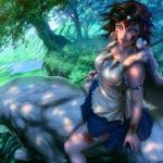 Bộ hình nền anime công chúa Mononoke